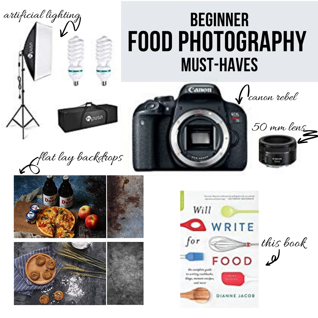 food photography must haves